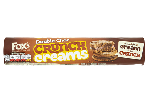 Double Choc Crunch Creams