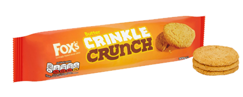 Butter Crinkle Crunch